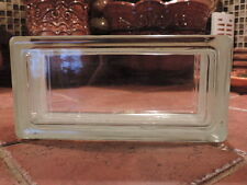 "Glass Block By Weck. NEW!!! 4 x 8 x 3-1/8"" CLEAR SEE THROUGH  ( Case of 20)"