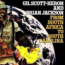 GIL SCOTT-HERON & BRIAN JACKSON South Africa to South Carolina SEALED VINYL LP