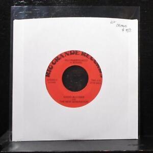 "Lucio Alcoser & The New Generation - Hey Puerto Rico 7"" VG+ Vinyl 45 ZEM 988"