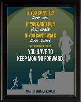Martin Luther King Jr Quote If You Can't Poster Print Picture or Framed Wall Art