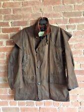Barbour Backhouse Waxed Cotton Men's Jacket Sz 36 (XS)