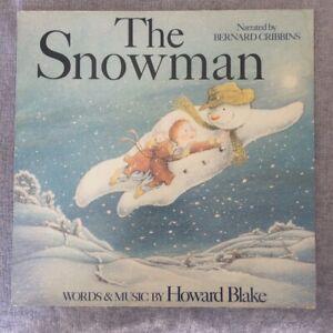 LP THE SNOWMAN BERNARD CRIBBINS 1983.