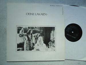 LP Deine Lakaien – Deine Lakaien 1991 Gymnastic Records – GYM 512