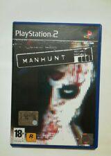 MANHUNT PS2  -  OTTIME CONDIZIONI - VERSIONE ITALIANA