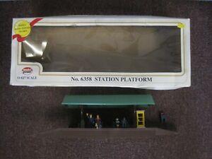 Model Power 6358 O Gauge Station Platform with original box