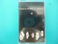 "TAKE THAT  "" SURE ""  CASSETTE SINGLE ( 2 TRACKS )"