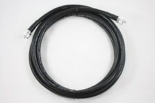 Times Microwave LMR-400UF Ultra Flex Ham & CB Coax Cable 20ft w/PL-259 USA MADE