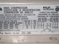 Fuji Ring Compressor Model VFC309A-7W 3 Phase , 2 Pole , (TW1)