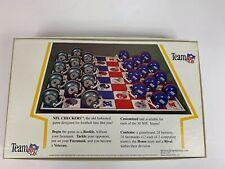 Vintage NFL Team Checkers New York Jets vs Miami Dolphins 1983