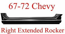 67 72 Chevy RIGHT Extended Rocker Panel, Truck, GMC, 1.2MM Thick!!  897-03R