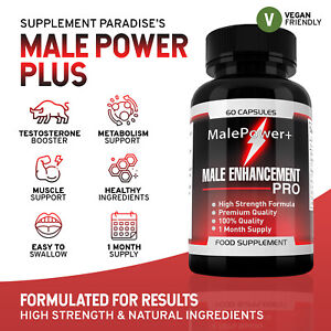 Male Power Plus Male Enhancement (60 Caps) - MalePower + | SUPPLEMENT PARADISE