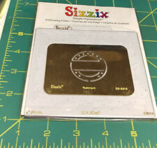 Unopened Sizzix Simple Impressions Embossing Folder POSTMARK 38-9813