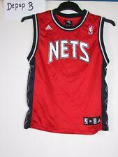 1de627fc75a7 vtg 90s 00s adidas new jersey nets NBA basketball shirt jersey