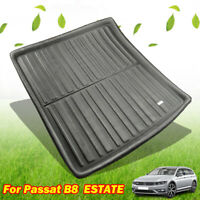 For VW Passat B8 Estate Variant Alltrack 14- Cargo Boot Liner Tray Trunk Mat