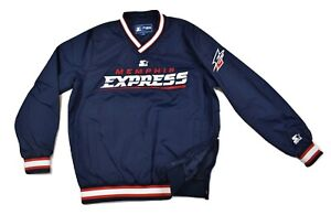 Starter Mens AAF Memphis Express On-Field Pullover Trainer Jacket NWT $95 M-2XL