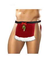 men's sexy Christmas Holiday Santa loin cloth, Mr Santa mistletoe