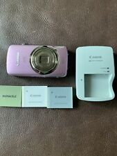 Canon IXY (PowerShot) 930 IS Point-Shoot Camera 12.1 MP BUNDLE Pink