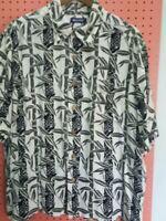 Puritan Men's Short Sleeve Hawaiian Tropical Shirt ~ 100% Rayon ~ Size XL