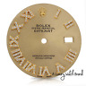 Diamond Roman Numeral Champagne Dial to Fit Rolex Datejust 36mm - REAL DIAMONDS