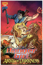 DANGER GIRL and the ARMY of DARKNESS #4 B, VF+, Bradshaw,2011,more AOD in store