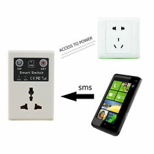 EU plug Cellphone Phone PDA GSM RC Remote Control Socket Power Smart SwitchLX