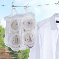 New Washing Shoes Mesh Net Air Bag Pouch Washing Machine Cleaner Laundry CMX