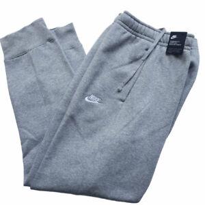 Nike Men's Jogger Pants Extra Large Club Fleece Sweatpants Gray BV2671-063