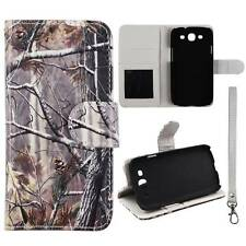 Flip Wallet Camo Pine Rt For Samsung Galaxy S 3 i9300 Pu Leather Cover Case