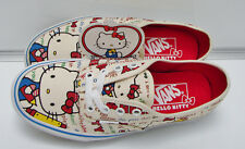 AUTHENTIC (HELLO KITTY) RED/WHITE VN-0W4NDKT WOMEN'S SIZE: 7