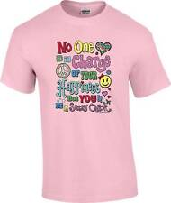No One is in Charge of your Happiness But You Be A Sassy Chick Peace T-Shirt