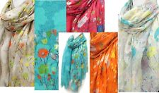 Wild Flower print oblong Scarf Lot of 30