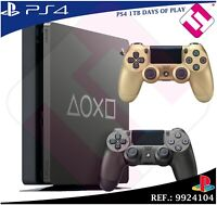 DAYS OF PLAY PS4 1TB 2019 PLAYSTATION 4 + MANDO DUALSHOCK COLOR ORO 100% SONY
