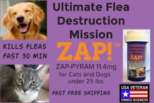 Zap! Instant Flea Control Killer 50 Capsules 11.4mg Dogs Cats <25lb