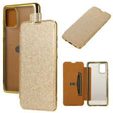 Slim Glitter Wallet Leather Flip Cover Case For Samsung A21S A51 A71 S21 S20 S10