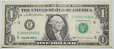 USA: $1 DOLLARO BANCONOTA dal 1995 in perfette condizioni condizioni. USD. numero: e 90007426 K