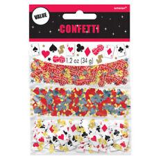 Coriandoli multicolori plastici per feste e party
