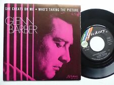 GLENN BARBER She cheats on me HICKORY HP 90101 Pressage France Discotheque RTL