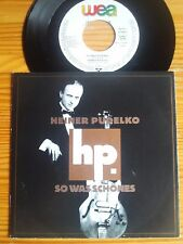 "7"" HEINER PUDELKO ex INTERZONE : SO WAS SCHÖNES / NARREN  Vinyl Single NDW KULT"