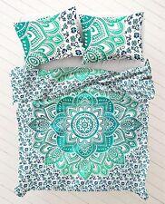 Twin vert ombre mandala mural tapisserie couvre-lit beach blanket decor