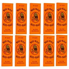 """10 x Zig Zag Cigarette Rolling Paper """"1 1/4"""", Free Same Day Express Shipping"""