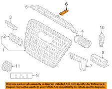 AUDI OEM 11-14 A8 Quattro Grille Grill-Reinforcement Plate Bracket 4H0853993A