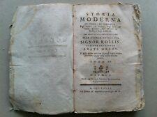 1785  MAROCCO BASCIÀ DEÌ BEÌ TUNISIA LIBIA ROLLIN MARCY -VOL.14- STORIA MODERNA