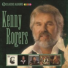 KENNY ROGERS 5 CLASSIC ALBUMS 5CD ALBUM SET (April 14th 2017)