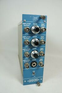 Helgeson Quad Nal Preamp Amplifer Model PAIA04014 As is