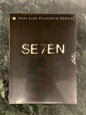 New! Seven Se7en (Dvd, 2000, 2-Disc Set, Platinum) Brad Pitt, M.Freeman