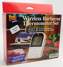 Maverick Meat Thermometer ET-732 Wireless BBQ-Black Excellent Condition