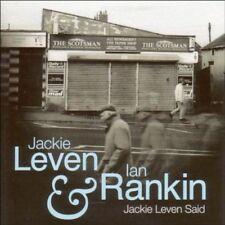 Leven Jackie & Ian Rankin - Jackie Leven Said Nuevo CD