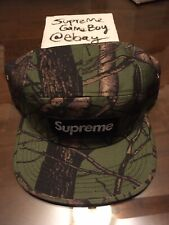 SUPREME TREE CAMO CAMP CAP OLIVE FW12 2012 GREEN RARE FOREST CAMOUFLAGE DSWOT