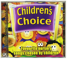 Children's Choice CD.  Favourite nursery songs and rhymes chosen by kids *NEW*