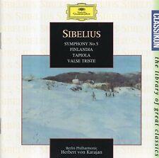 Sibelius - Symphony No.5 · Finlandia · Tapiola · Valse triste / Herbert von Kara